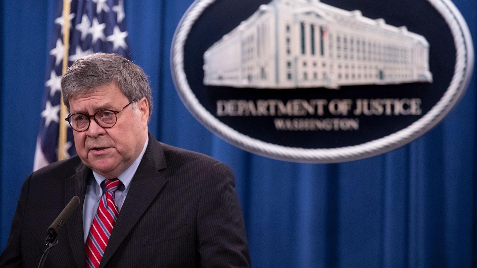 LDAD Files Ethics Complaint Against William P. Barr